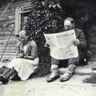 Laikraščio skaitymas
